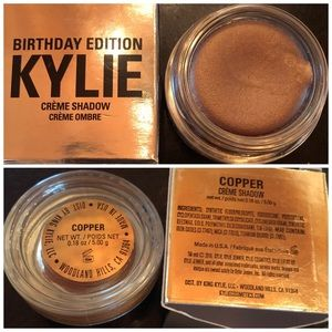 Kylie Birthday Edition Copper Creme Eyeshadow